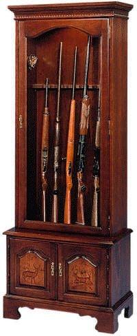 Jasper Cabinet Remington 6 Gun Cabinet 683 00