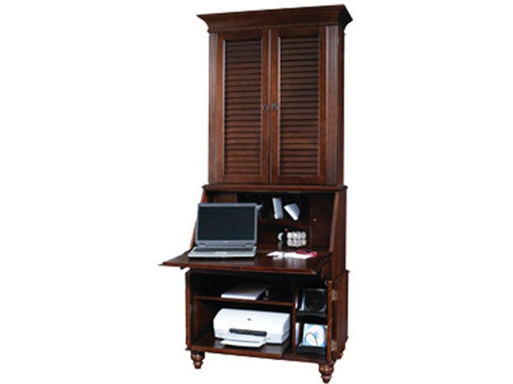 Jasper cabinet home office bahama breeze laptop secretary for Furniture 888