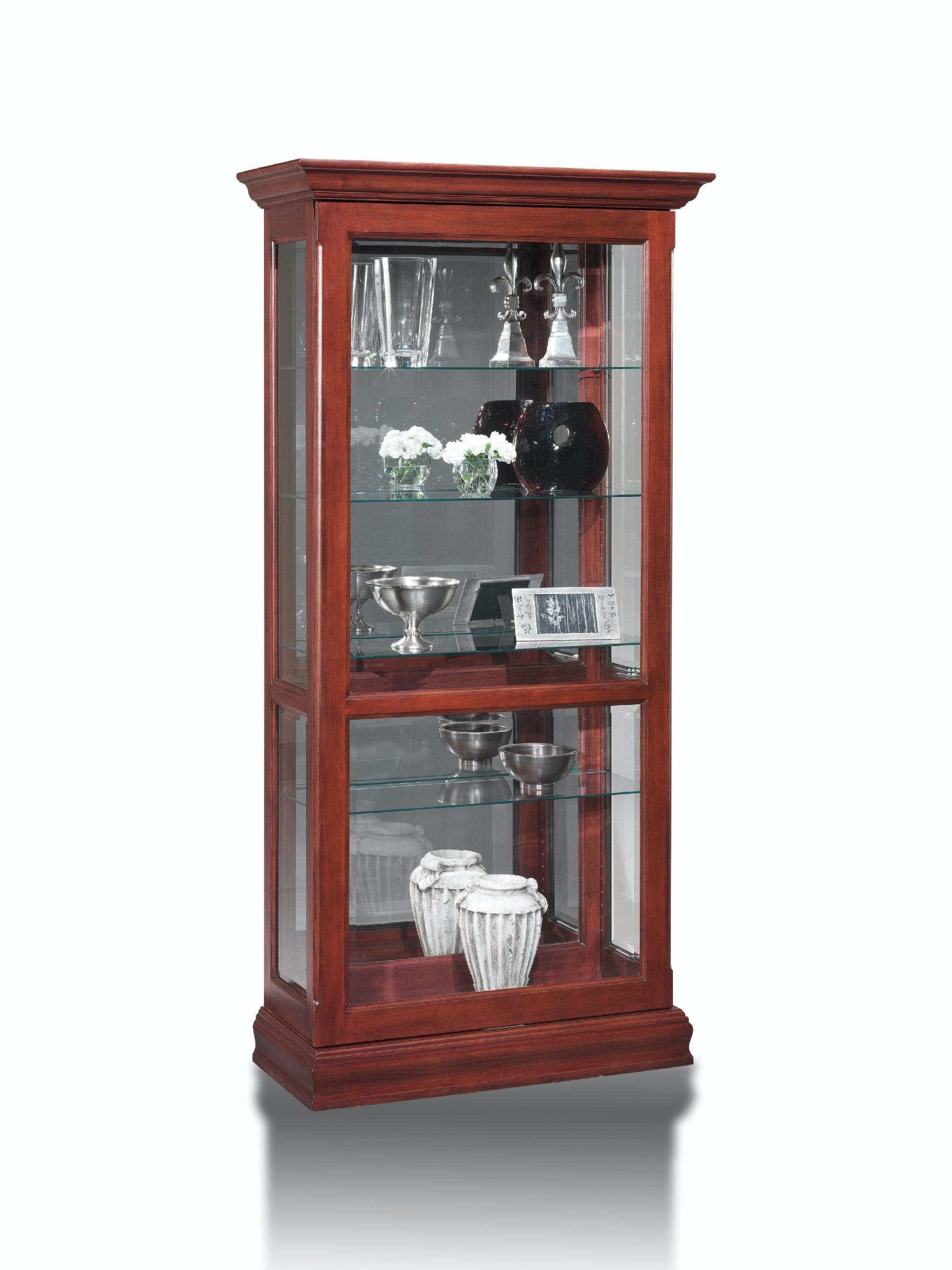 Gentil Jasper Cabinet Sliding Glass Display Curio P603 00