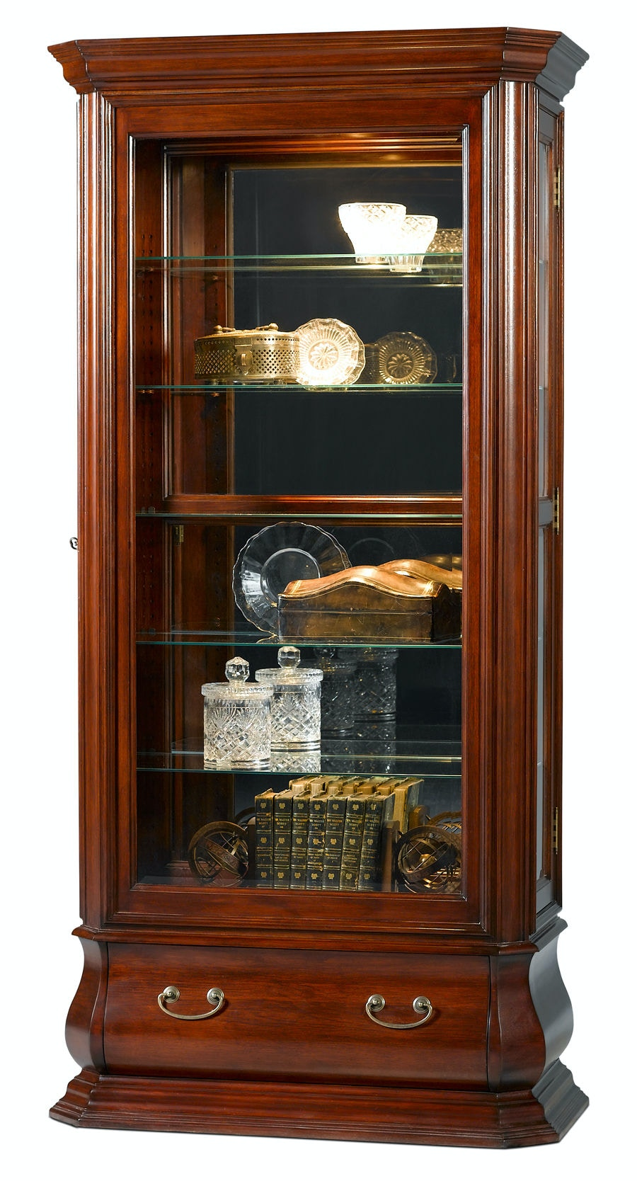 Jasper Cabinet Living Room Bombay Side Load Curio