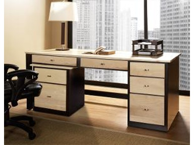 Jasper Cabinet Desk with Drawers 40-41