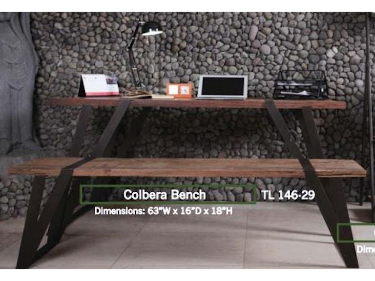 Jasper Cabinet Dining Room Colbera Work Table TL 146 10 At Julianas Furniture Galleries