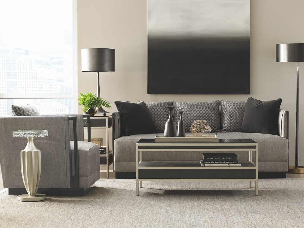 Aa Laun Coffee Table Caracole Modern Living Room Uptown Cocktail Table M011 016 403