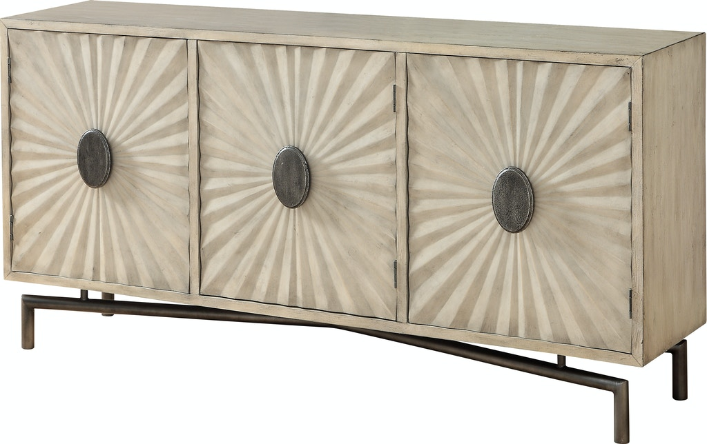 Accents by Andy Stein Living Room 3 Door Media Credenza ...