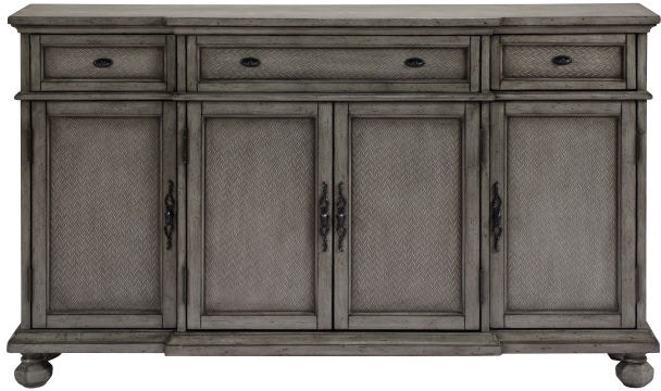 colors for a kitchen cabinets accents by andy stein living room 3 drawer 4 door credenza 13709