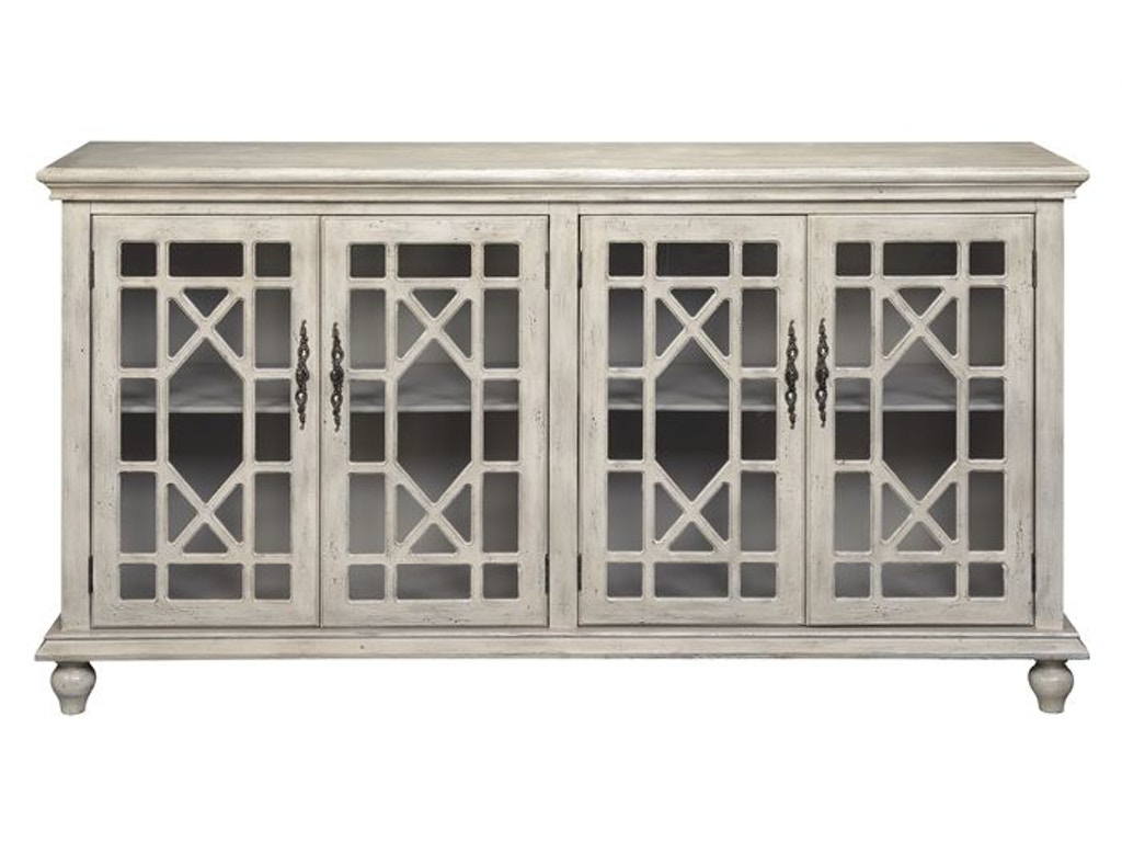 Accents by Andy Stein Living Room 4 Door Media Credenza 70829 ...