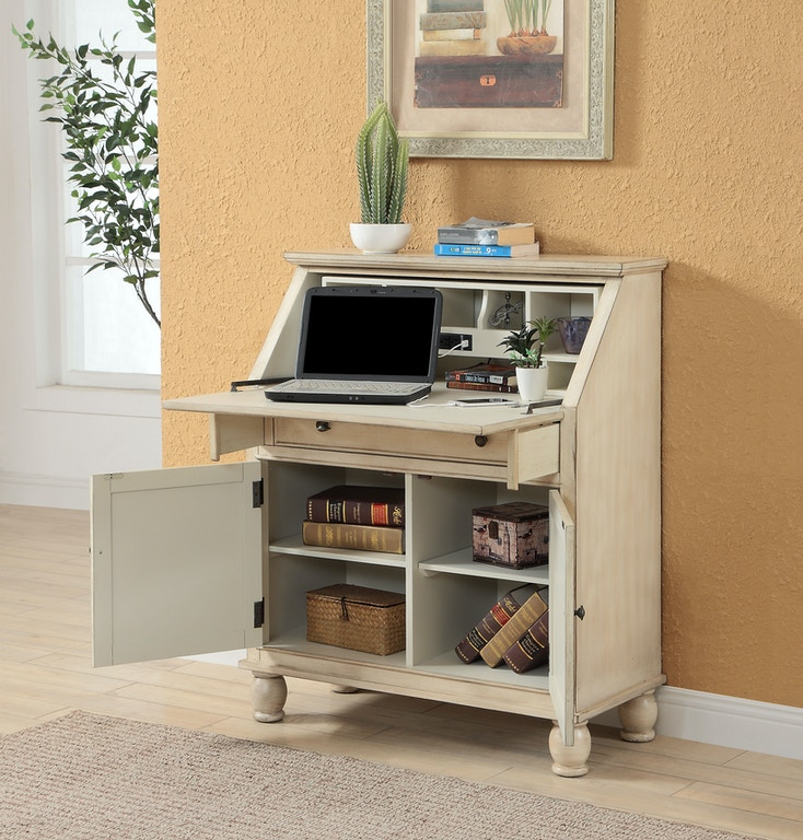 Coast To Coast Accents Home Office Power Outlet Desk 22599