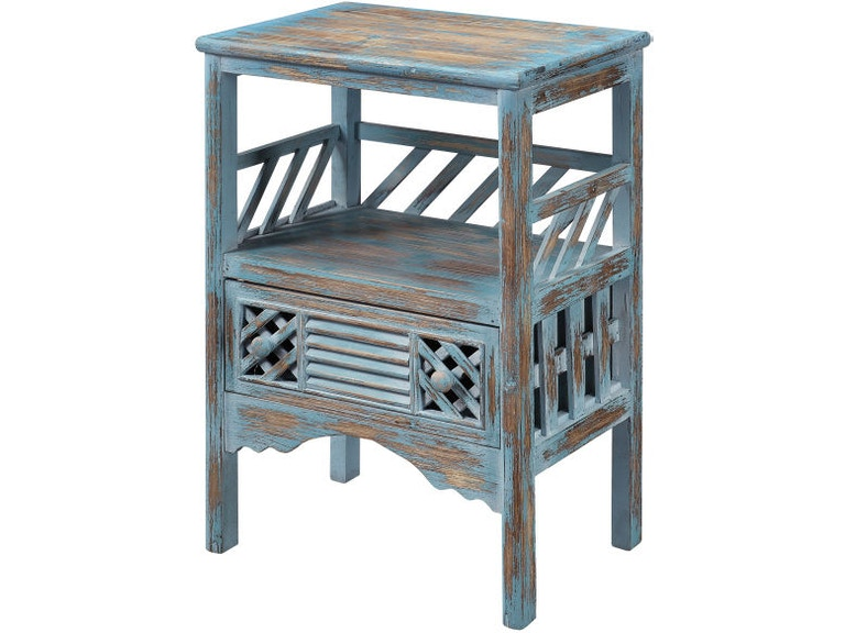a04685048ce7a Coast to Coast Accents Living Room 1 Drawer Accent Table 50637 ...
