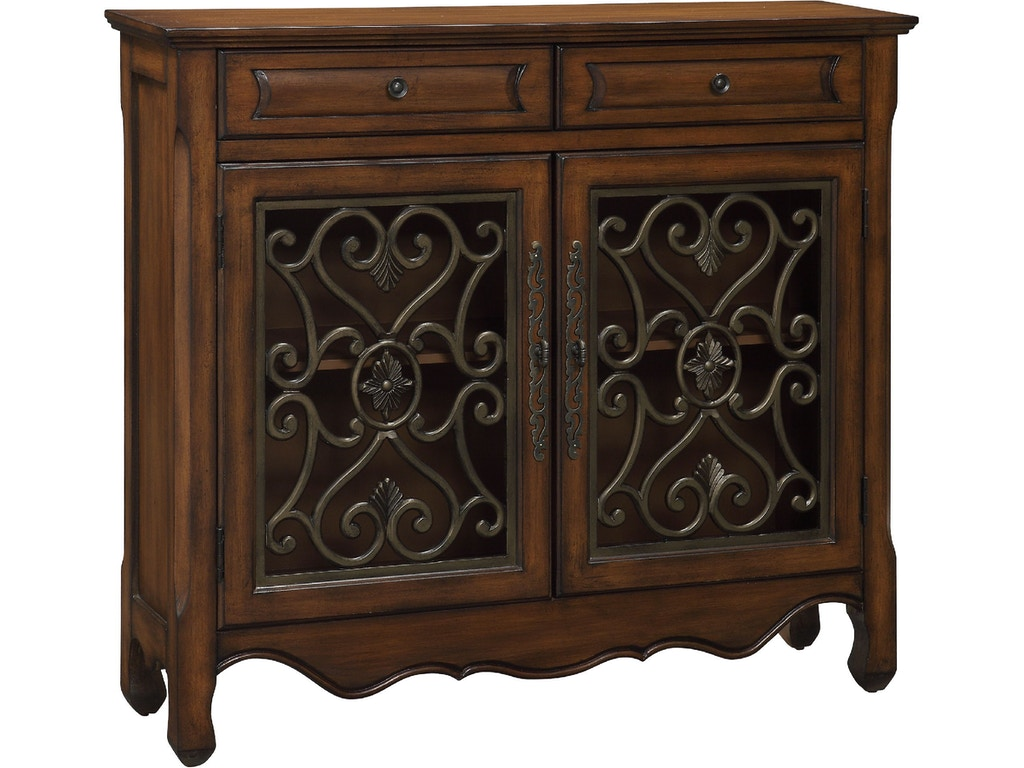 Coast to coast accents living room 2 drawer 2 door for Bargain furniture