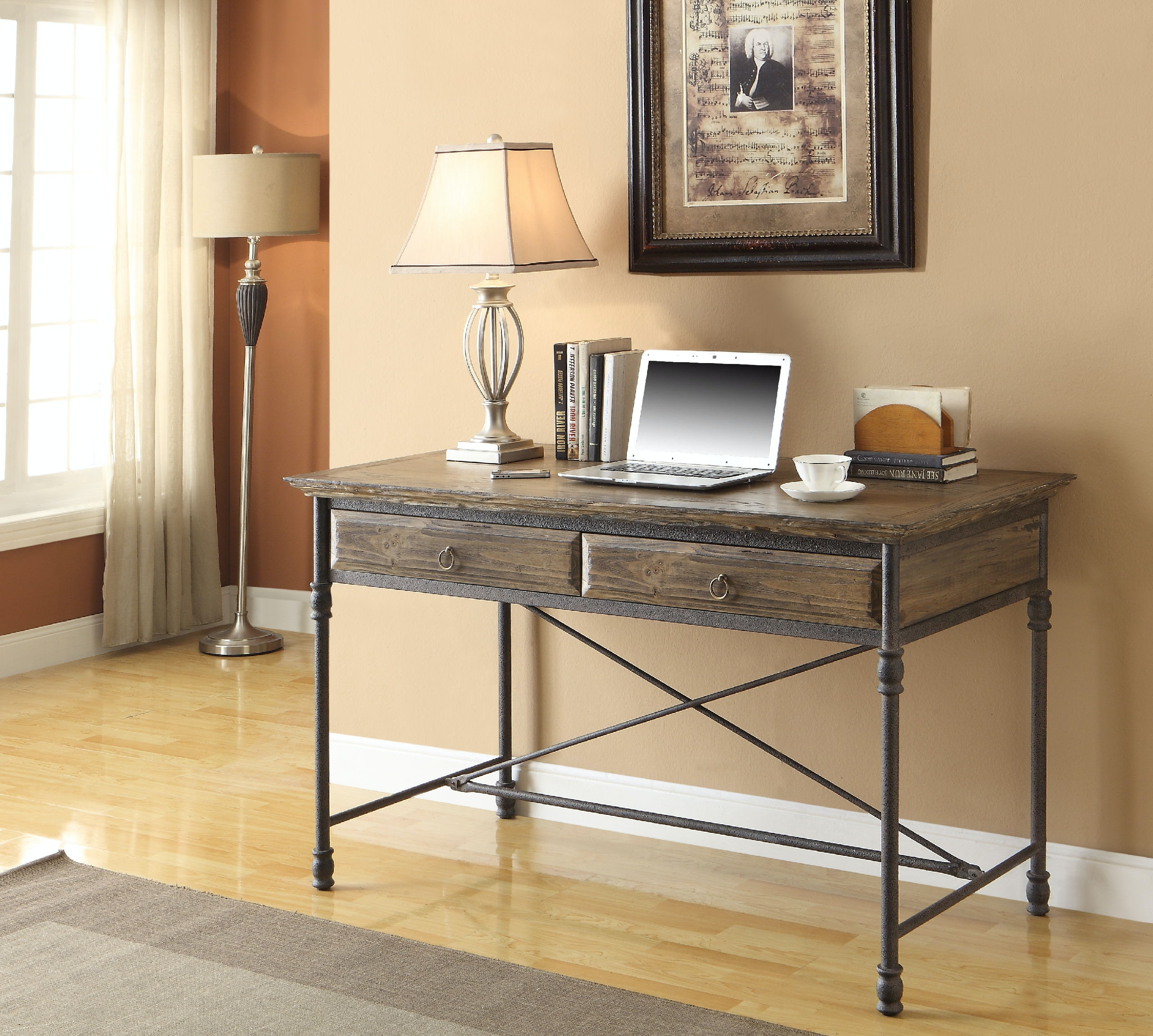 Coast To Coast Accents Home Office 2 Drawer Desk 61627