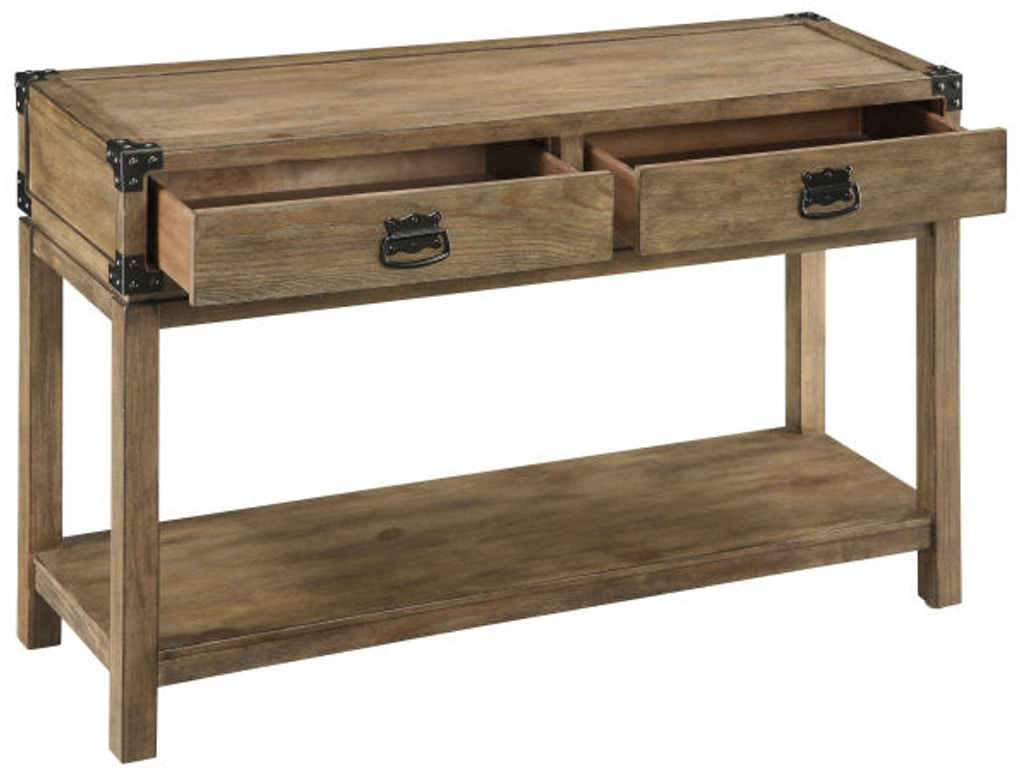 Coast To Coast Accents Living Room 2 Drawer Console 67458