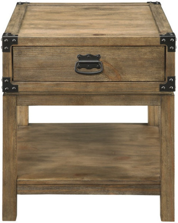 Coast To Coast Accents Living Room 1 Drawer End Table