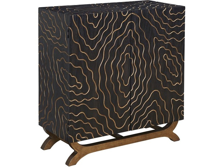 Coast To Coast Accents Living Room Cabinet 96547 Bowen