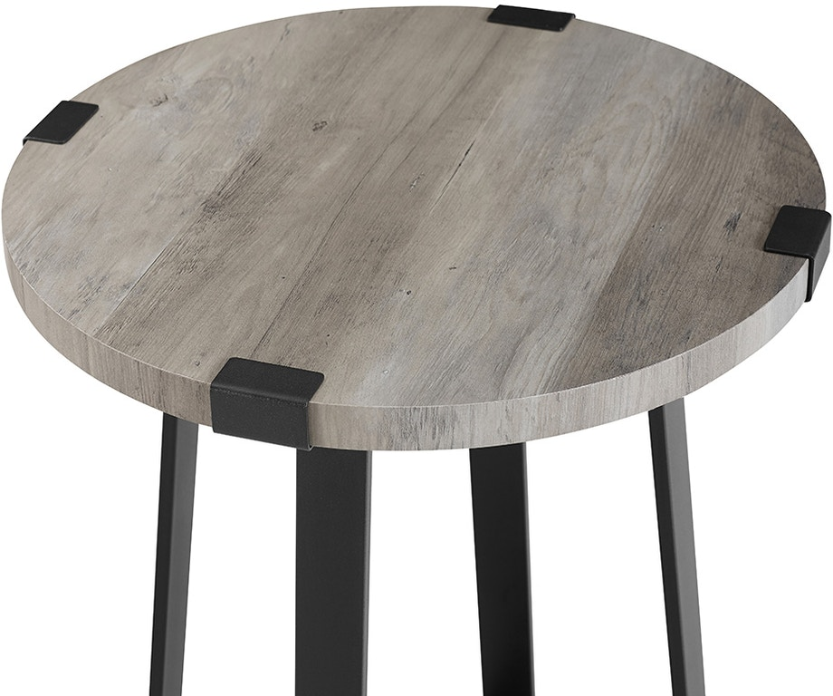eea040670fb 18 Rustic Urban Wood And Metal Wrap Round Accent Side