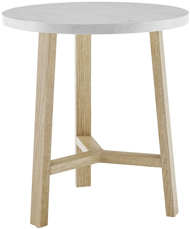 9fe94da9f0273 Ft Myers 20   Transitional Contemporary Mid Century Modern Round Accent  Side Table WEDAF20EMSTLO from
