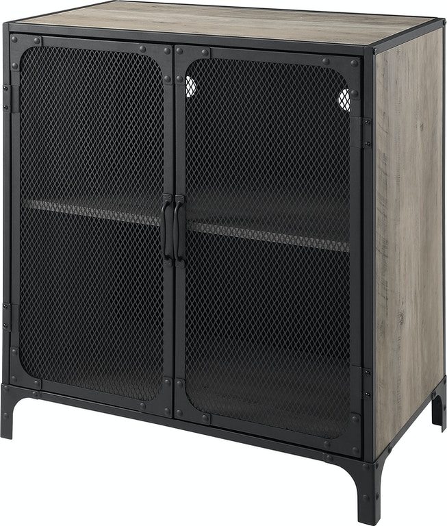 30 Urban Industrial Wood And Metal Storage Tv Console Accent