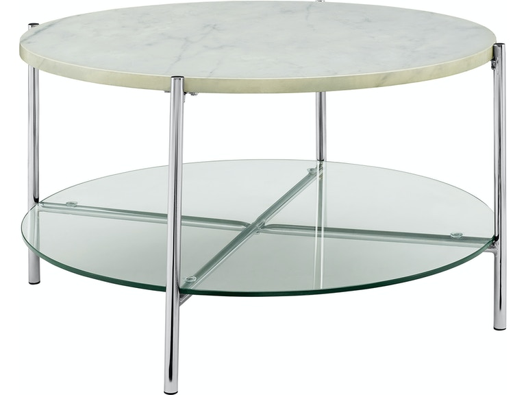 Surprising Ft Myers Living Room 32 Mid Century Modern Round Coffee Table Top Glass Shelf Wedaf32Srdctwmcr Walter E Smithe Furniture Design Home Interior And Landscaping Oversignezvosmurscom