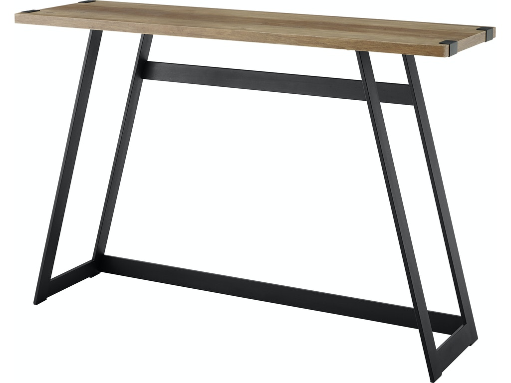 Tremendous Ft Myers Living Room 46 Urban Industrial Metal Wrap Entry Console Sofa Table Rustic Oak Wedaf46Mwetro Walter E Smithe Furniture Design Dailytribune Chair Design For Home Dailytribuneorg