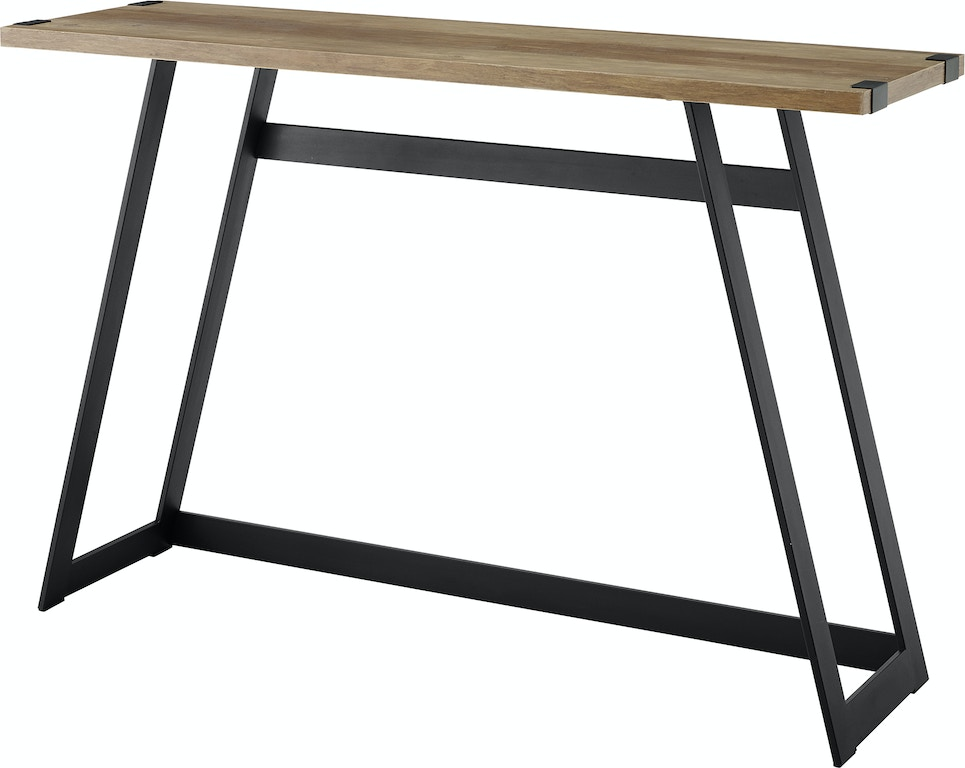 Ft Myers 46 Urban Metal Wrap Entry Console Sofa Table Wedaf46mwetro From Walter