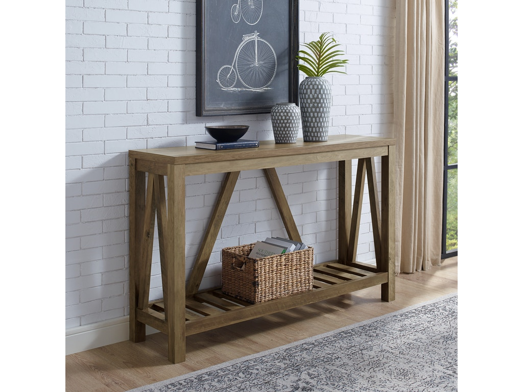 Pleasing Ft Myers Living Room 52 A Frame Rustic Entry Console Table Rustic Oak Wedaf52Aftro Walter E Smithe Furniture Design Dailytribune Chair Design For Home Dailytribuneorg