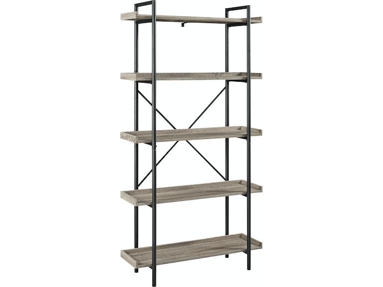 Ft Myers 68 Urban Pipe Bookshelf WEDBS68UPAG From Walter E Smithe Furniture Design