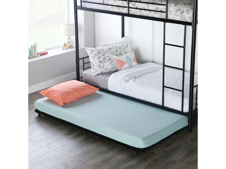 Twin Roll-out Trundle Bed Frame WEDBT40TBBL