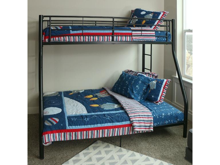 Twin Over Full Metal Bunk Bed Wedbtodbl
