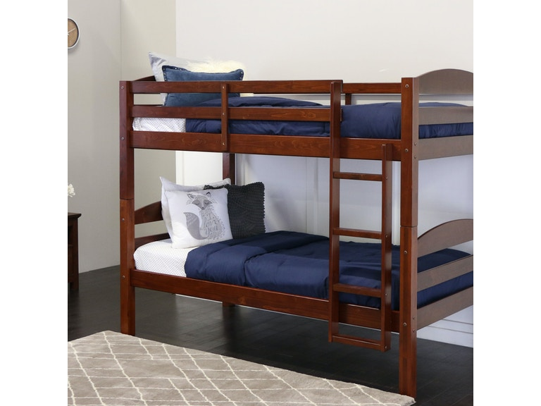 Twin Solid Wood Bunk Bed Wedbwstotes