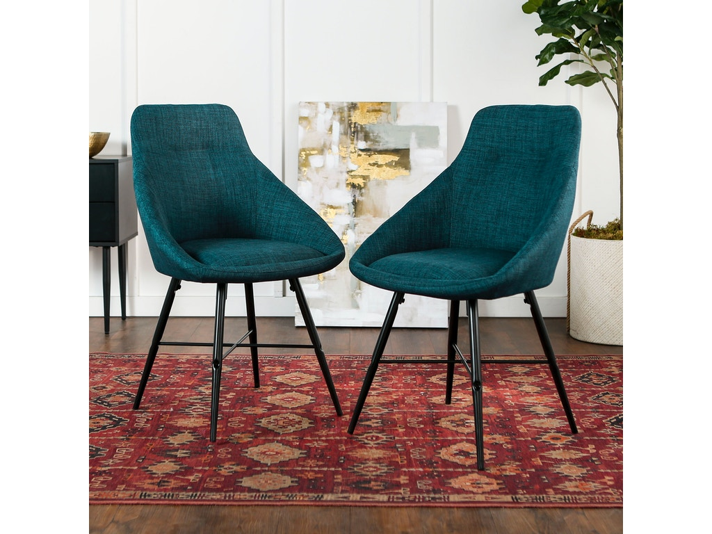 Modern Unique Accent Chairs.Ft Myers Dining Room Mid Century Modern Upholstered Dining Side Accent Chair Set Of 2 Wedch18urb2bu Walter E Smithe Furniture Design