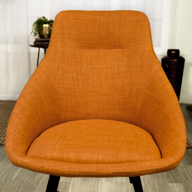 Mid Century Orange Chair Smartvradar Com