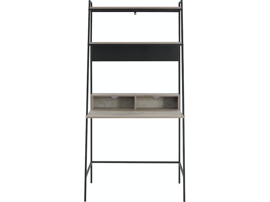 pretty nice 61319 1b2e8 Ft Myers Home Office 36'' Urban Industrial Mid Century Modern Metal and  Wood Ladder Desk WEDD36ARLOGW Walter E. Smithe Furniture + Design