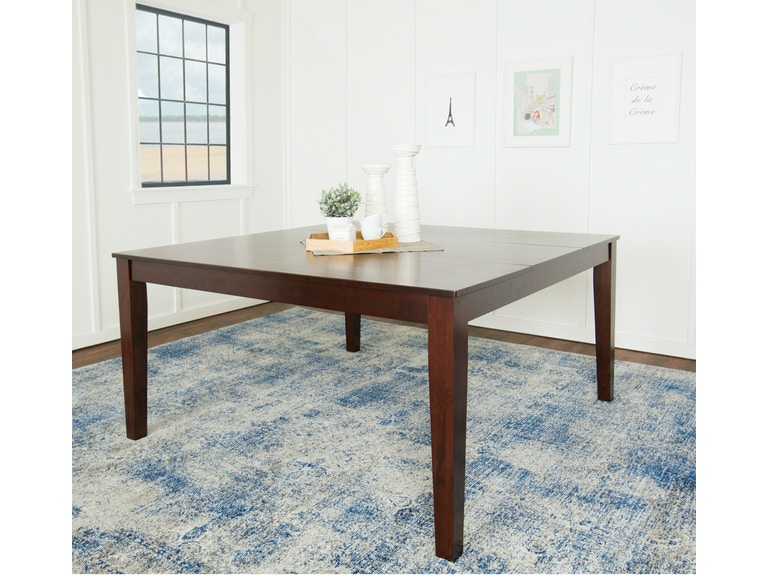 Ft Myers Dining Room 60 Wood Square Table Wedtw60sqcno Walter E Smithe Furniture Design