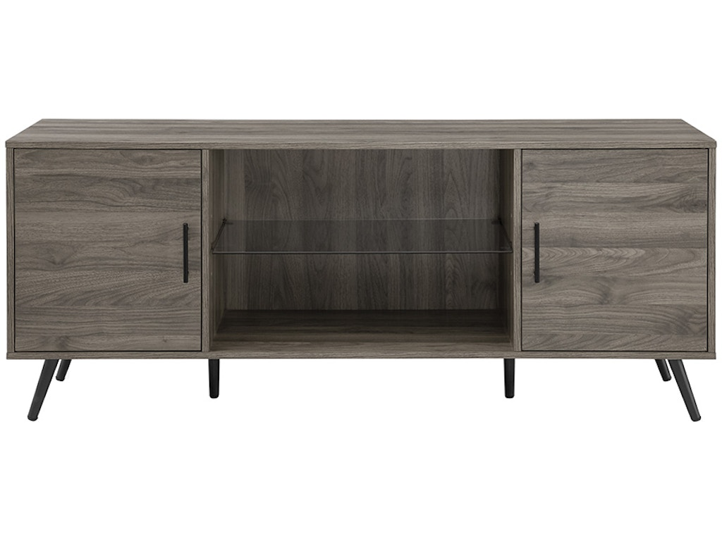 newest 79d84 a8d15 Ft Myers Home Entertainment 60'' Mid Century Modern TV Stand W60NOR2DSG  Walter E. Smithe Furniture + Design
