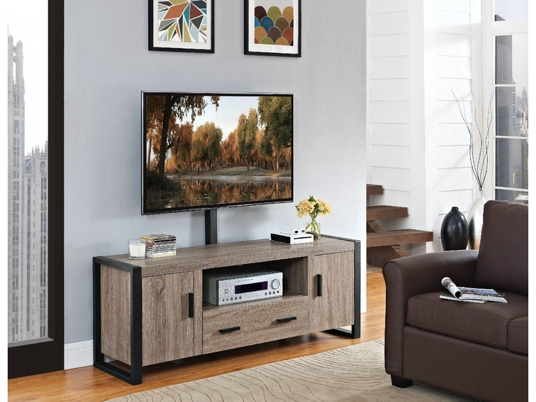 60 Urban Blend Tv Stand With Mount W60ubc22ag Mt