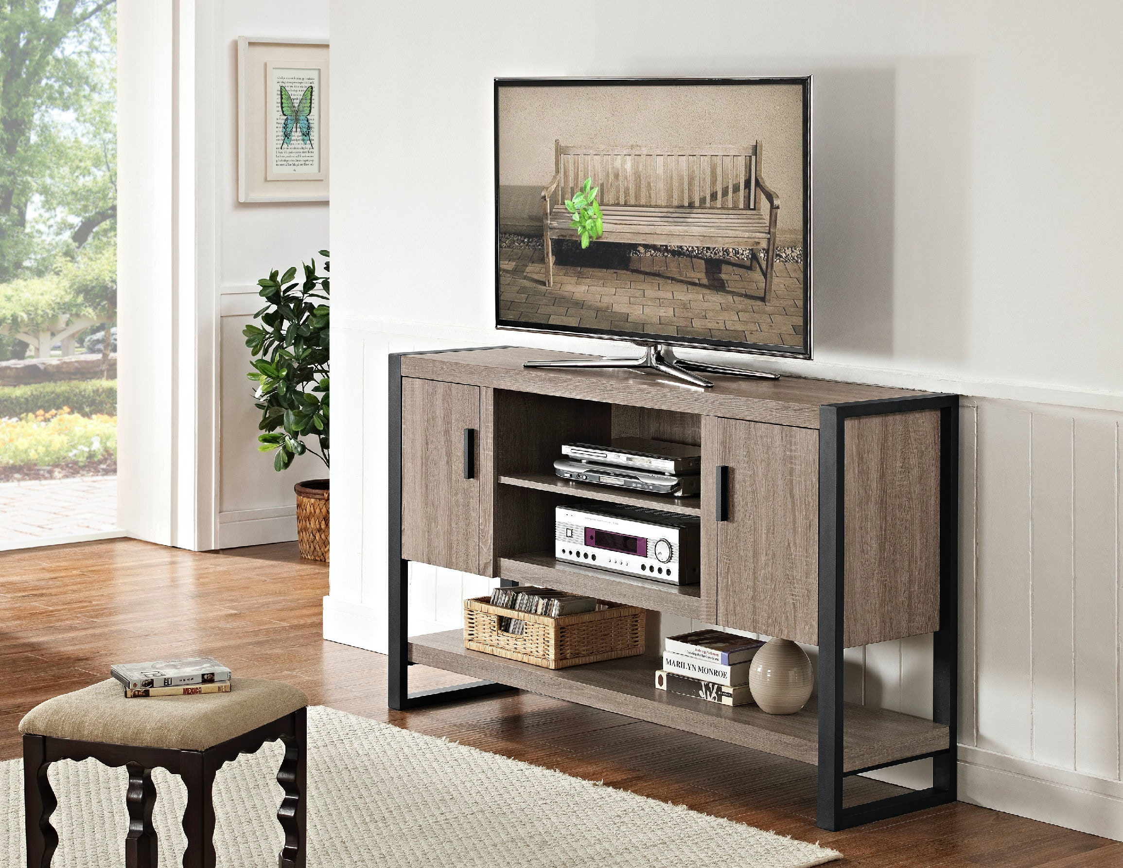 Ft Myers 60u0027u0027 Urban Blend TV Console Table/Buffet WEDW60UBCTAG From Walter E