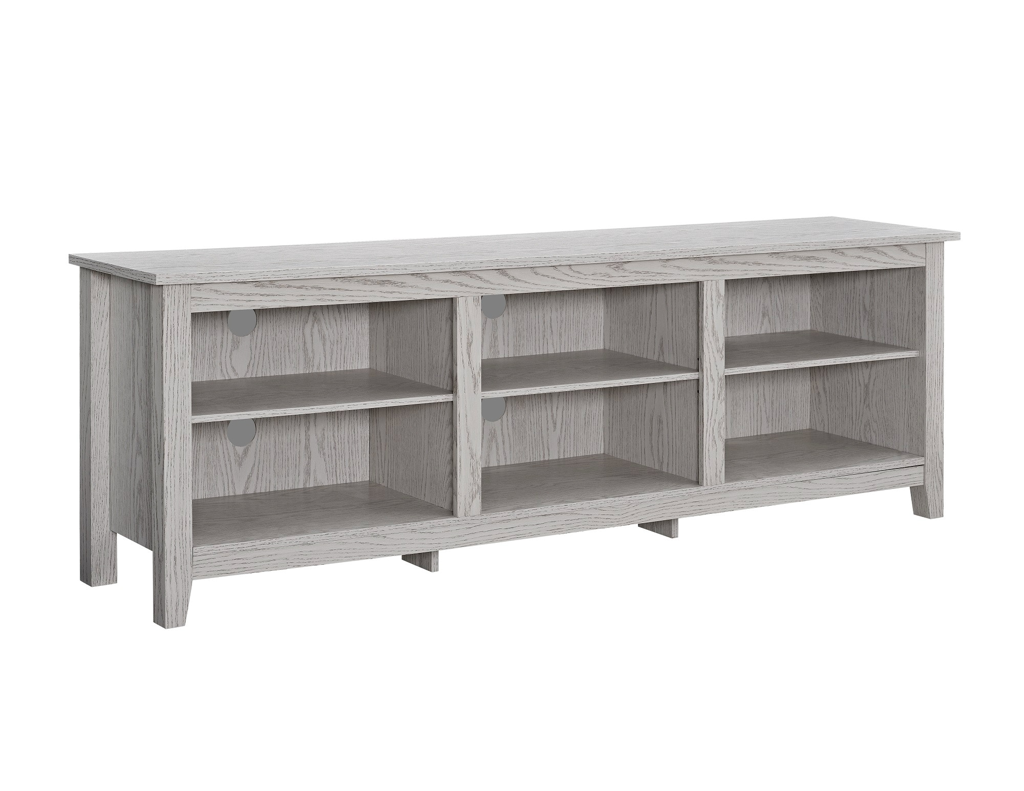 Superbe Ft Myers 70u0027u0027 Wood Media TV Stand Storage Console WEDW70CSPWW From Walter E.