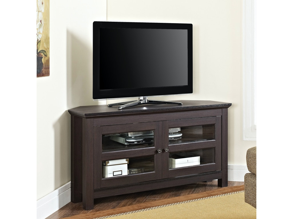Ft Myers Home Entertainment 44 Wood Corner Tv Stand Wedwq44ccres Walter E Smithe Furniture Design