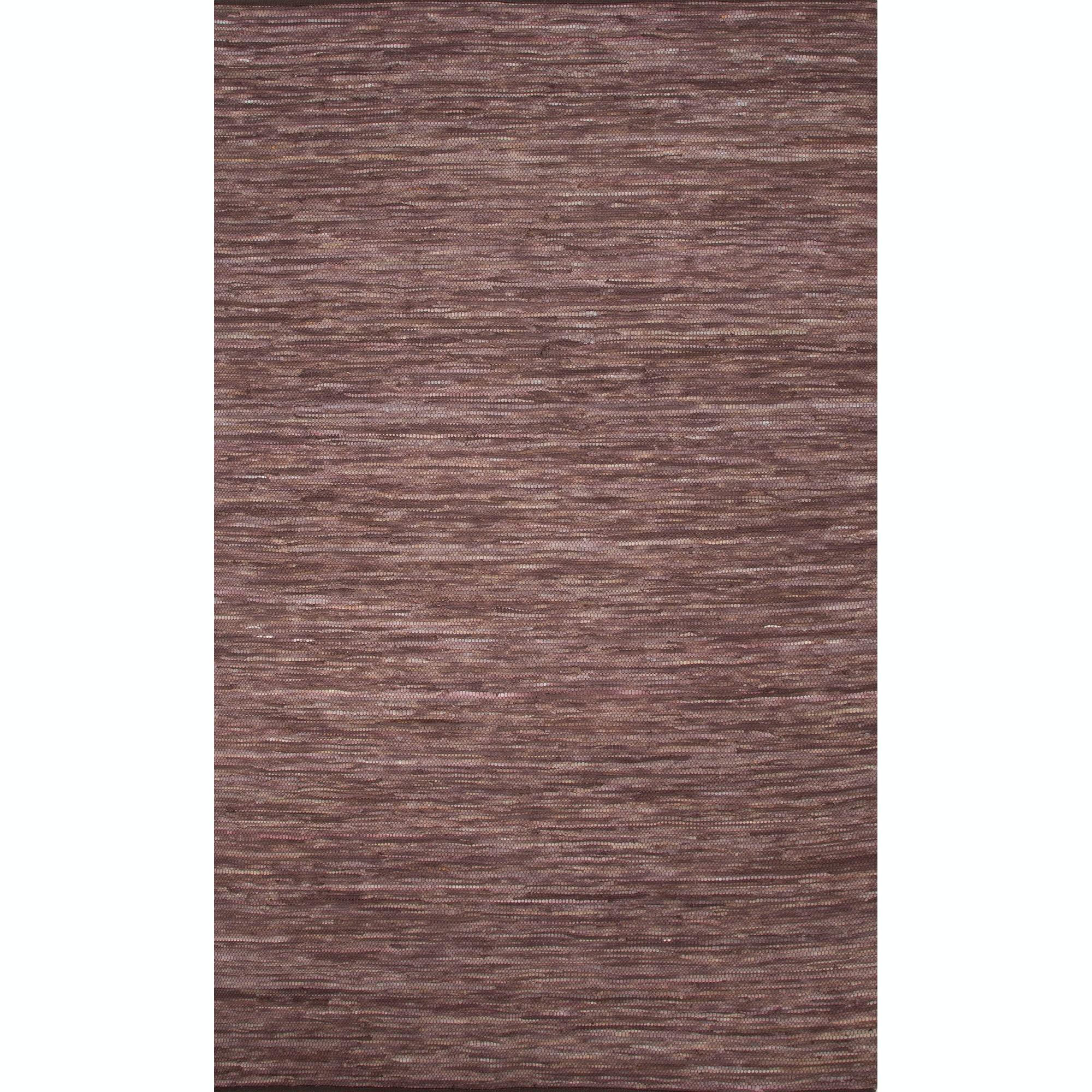 Floor Coverings Jaipur Solids Handloom Solid Pattern Brown Purple