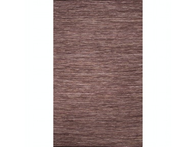 Jaipur Rugs Jaipur Solids/ Handloom Solid Pattern Brown/Purple Cotton Area Rug ANN01