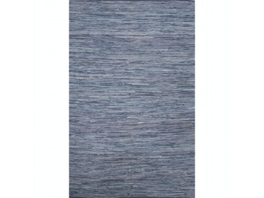 Jaipur Rugs Jaipur Solids/ Handloom Solid Pattern Blue Cotton Area Rug ANN04