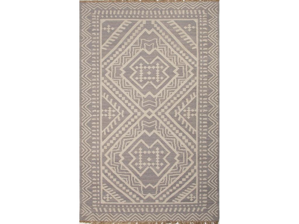 Jaipur Rugs Flat Weave Tribal Pattern Wool Red Multi Area Rug 4x6