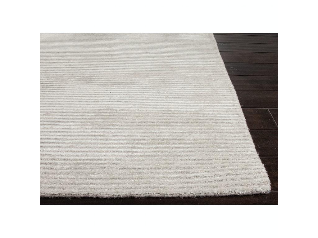 Jaipur Rugs Solids Handloom Solid Pattern Wool Art Silk Ivory White Area Rug