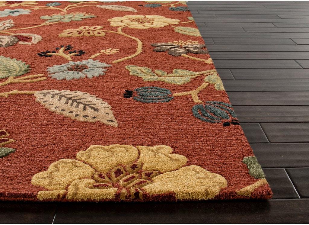 Jaipur Rugs Floor Coverings Hand Tufted Floral Pattern Wool Art