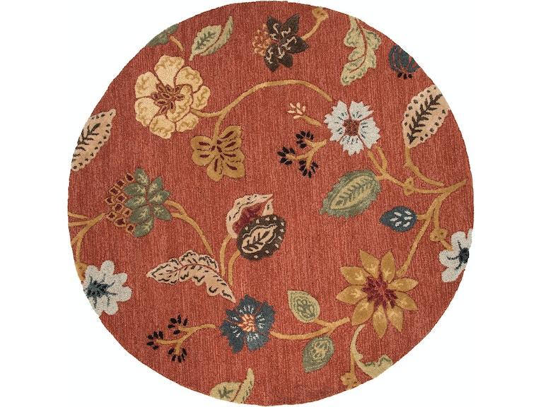 Jaipur Rugs Hand Tufted Fl Pattern Wool Art Silk Red Multi Area Rug