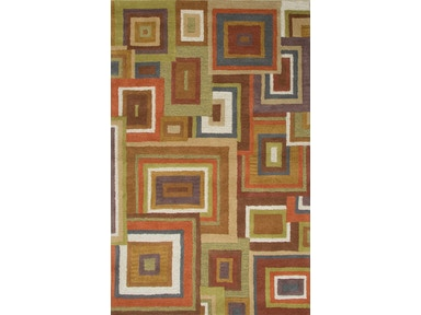 Jaipur Rugs Hand-Tufted Durable Wool Red/Green Area Rug BL108