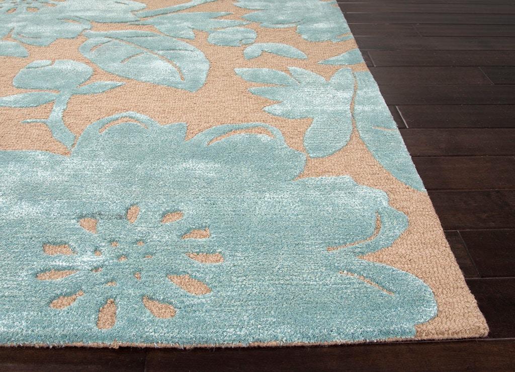 Jaipur Rugs Floor Coverings Hand Tufted Durable Wool Art Silk Blue