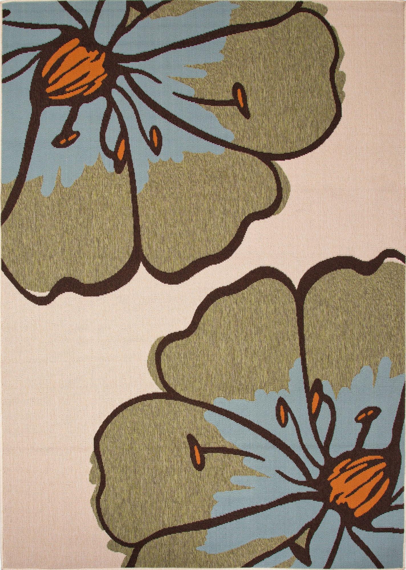 Jaipur Rugs Floor Coverings Jaipur Indoor Outdoor Floral Pattern