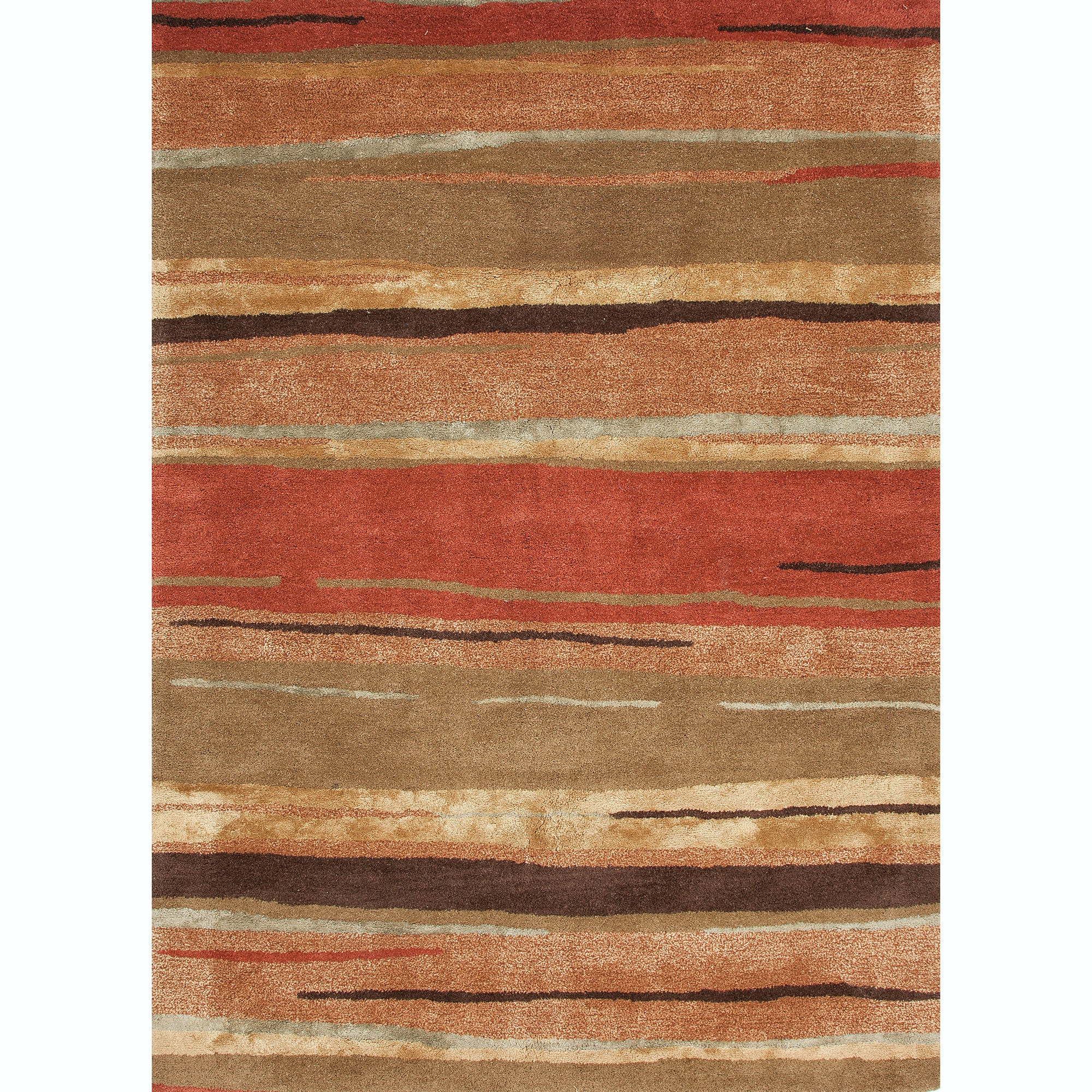 Jaipur Rugs Floor Coverings Hand Tufted Abstract Pattern Wool Art