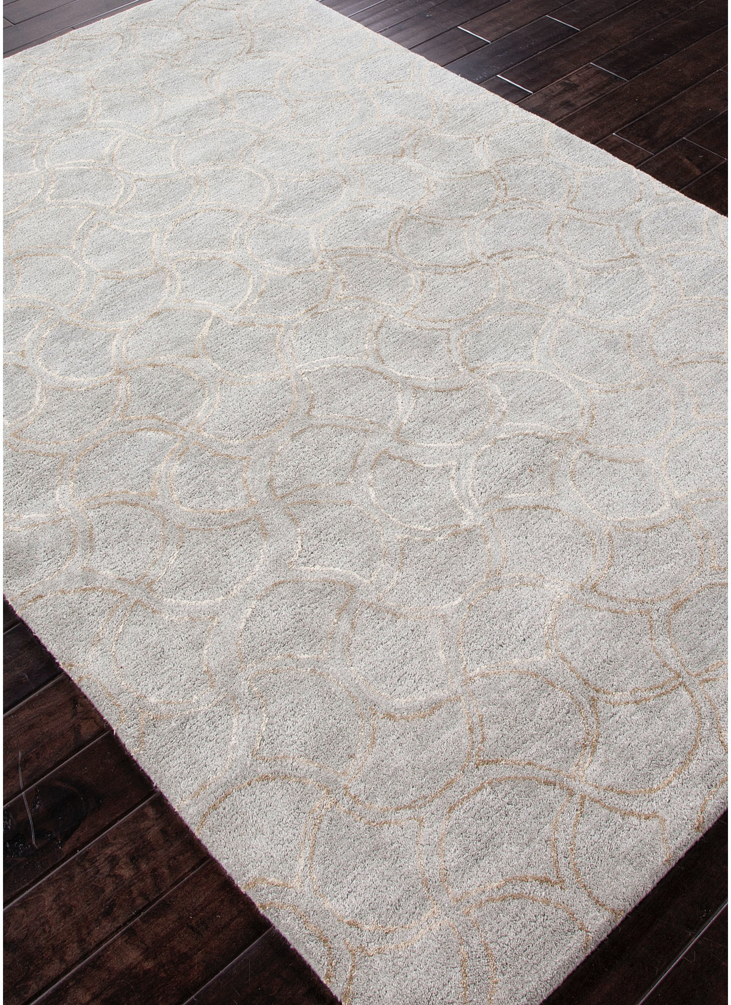 Jaipur Rugs Floor Coverings Hand Tufted Tone On Tone Pattern Wool