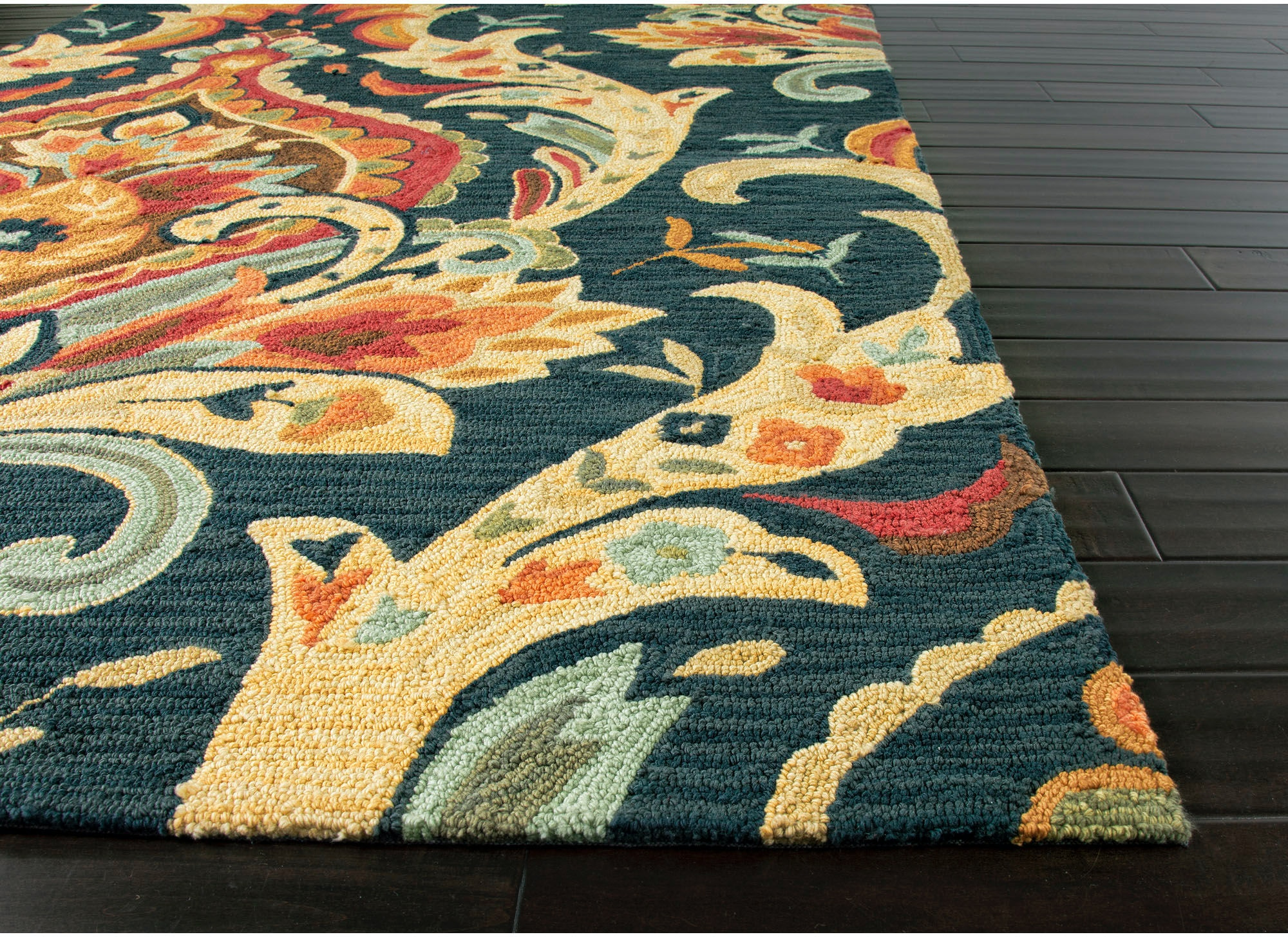 Jaipur Rugs Floor Coverings Hand Tufted Floral Pattern Polyester